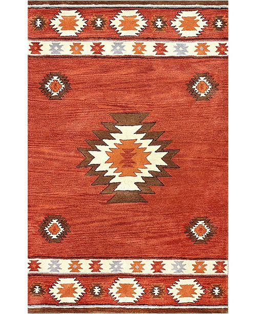 Nuloom Florence Shyla Abstract Area Rug Reviews Rugs Macy S
