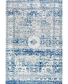 Bodrum Medallion Lela Mist Area Rug