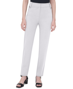 Calvin Klein BUTTON-TAB PULL-ON PANTS