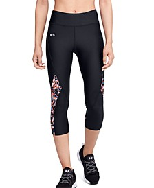 HeatGear® Printed-Panel Leggings