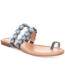 Joya Toe-Ring Flat Sandals, Created for Macy's