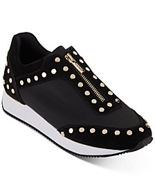 Avryl Studded Zipper Sneakers