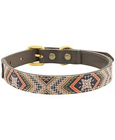 Dexter Leather Dog Collar, Medium