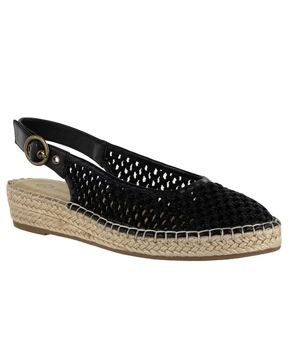 Bella Vita Olive II Women's Espadrille Wedge Sandals