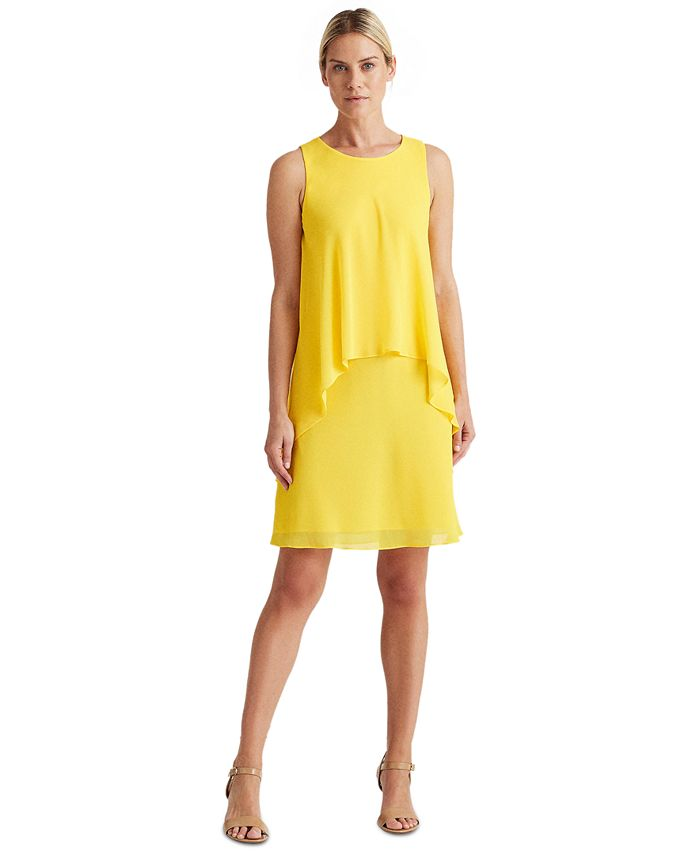 Lauren Ralph Lauren - Layered Georgette Dress