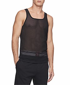 Men's CK One Mesh Tank Top