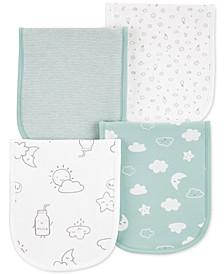 Baby 4-Pk. Clouds Burp Cloths