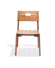 Otero Eucalyptus Wood Outdoor Chair