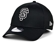 San Francisco Giants 2020 Clubhouse Black White 39THIRTY Cap