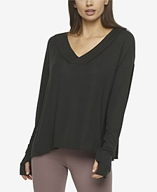 Essentials Rib V-Neck Top