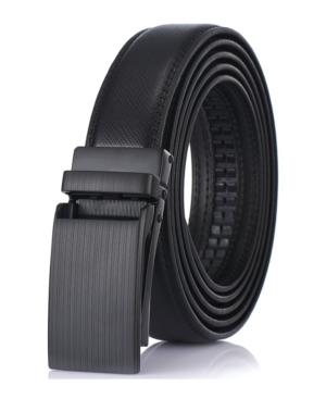 Men's Adjustable Leather Ratchet Belt