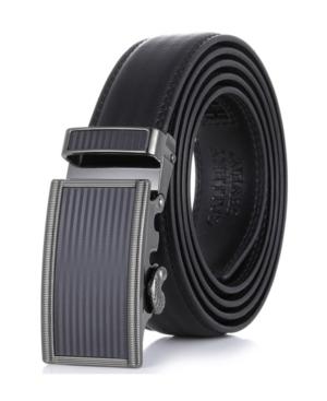 Men's Genuine Leather Ratchet Dress Belt