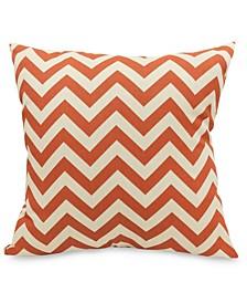 "Chevron Decorative Throw Pillow Extra Large 24"" x 24"""