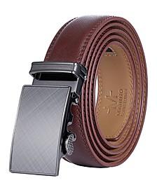 Men's Charcoal Depiction Ratchet Belt