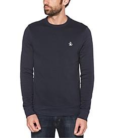 Men's Sticker Pete Fleece Long Sleeve Sweatshirt