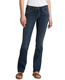 Avery Curvy-Fit Bootcut Jeans