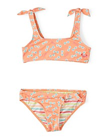 Little Girls Barbie Athletic Bikini Set