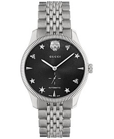 Men's Swiss Automatic G-Timeless Stainless Steel Bracelet Watch 40mm