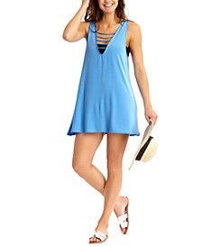 Juniors' Strappy Cover-Up Dress, Created for Macy's