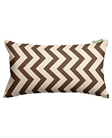 "Chevron Decorative Soft Throw Pillow Small 20"" x 12"""