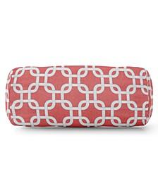 "Links Decorative Round Bolster Pillow 18.5"" x 8"""