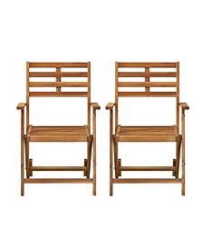 Moabian Outdoor Armchairs 2 Piece Set