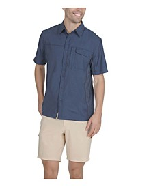 Men's 2 Pocket Sun Protection Button Down Performance Shirt