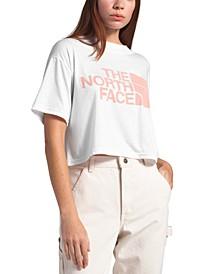 Cotton Cropped T-Shirt