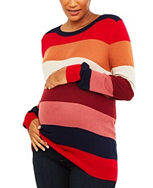 Splendid Maternity Crew-Neck Sweater