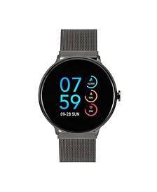 Men's Women's Sport Gunmetal Case with Gunmetal Mesh Strap 43mm