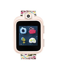 Boys Girls PlayZoom Blush Smartwatch for Kids Blush with Cats Print 42mm
