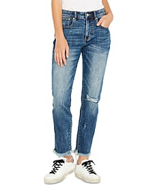 Maya Semi High-Rise Boyfriend Jeans