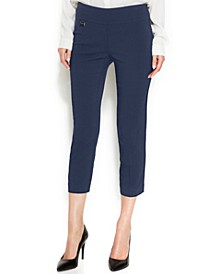 Petite Curvy Pull On Capri Pants, Created for Macy's