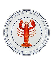 Lobster Enamelware Large Tray