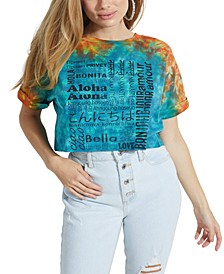 ECO International Cropped Graphic T-Shirt