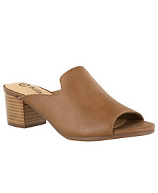 Bella Vita Daisy Women's Block Heel Sandals