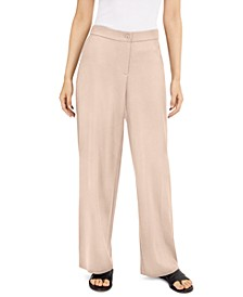 Straight-Leg Pants, Regular & Petite Sizes