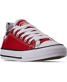 Big Boys Chuck Taylor All Star Double Upper Low-Top Casual Sneakers from Finish Line