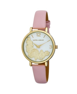 Women's Floral Bounty Pink Polyurethane Strap Watch 38mm