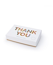 Colorful Thank You Milk Traditional Almond Toffee, 1 lb