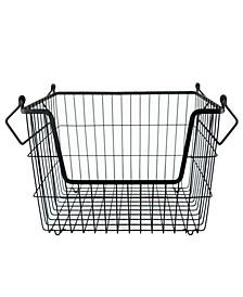 Metal Basket Rectangle Medium