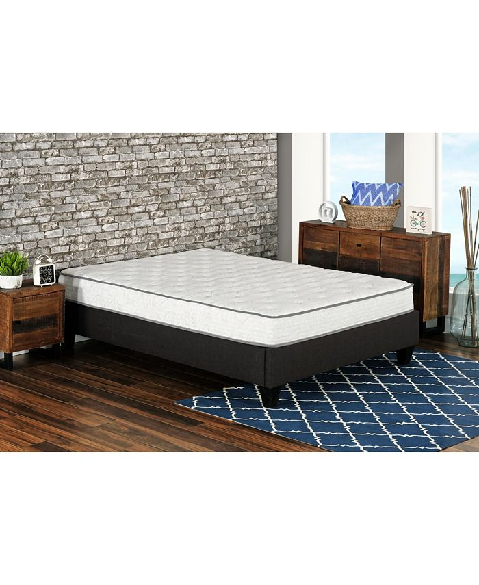 "Primo International - Primo Berri 8"" Pocket Coil with Lumber Gel Firm Mattress - Twin"