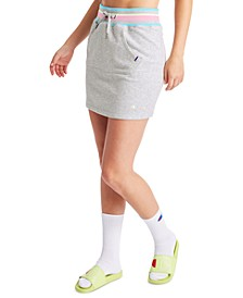 Women's Campus Varsity-Stripe Skirt