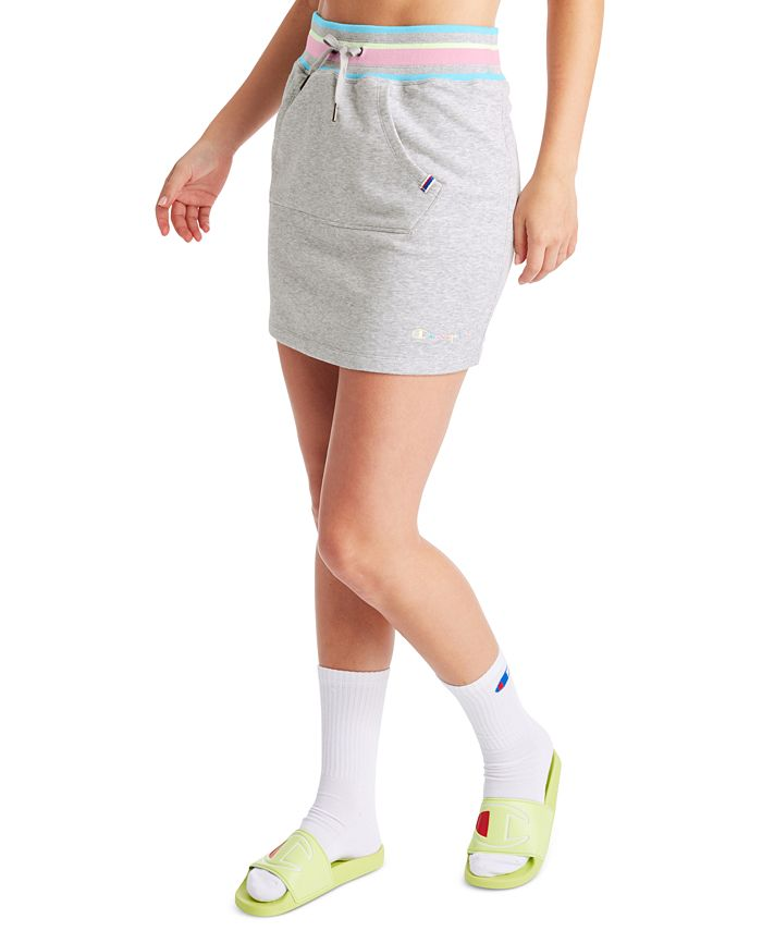 Champion - Campus Varsity-Stripe Skirt