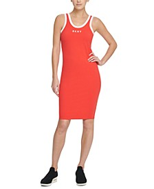 Sport Logo Ringer Tank Top Dress