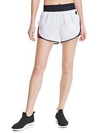 Sport Colorblocked High-Waist Shorts