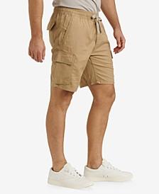 Men's Linen Cargo Short