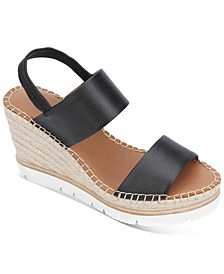 by Kenneth Cole Elyssa Two-Band Wedge Sandals
