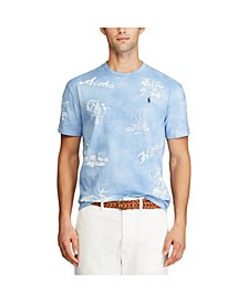 폴로 랄프로렌 Polo Ralph Lauren Mens Classic Fit Hawaiian T-shirt