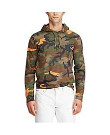 Men's Camo Jersey Hooded T-shirt